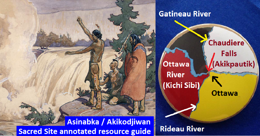 Sacred Waterfalls Site in Ottawa – Annotated Resource Guide